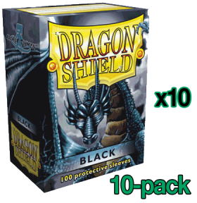 Bulk Dragon Shield Sleeves - Standard Size - Black