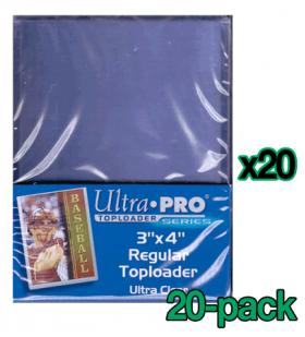 Bulk Ultra Pro Toploaders - Standard - Ultra Clear