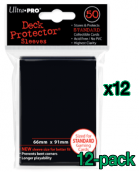 Bulk Ultra Pro Card Sleeves - Standard - Black