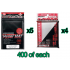 Bulk KMC Double Sleeving Kit - 400ct