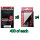 Bulk KMC Double Sleeving Kit - 400ct