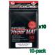 Bulk KMC Hyper Mat Card Sleeves - Standard - Black